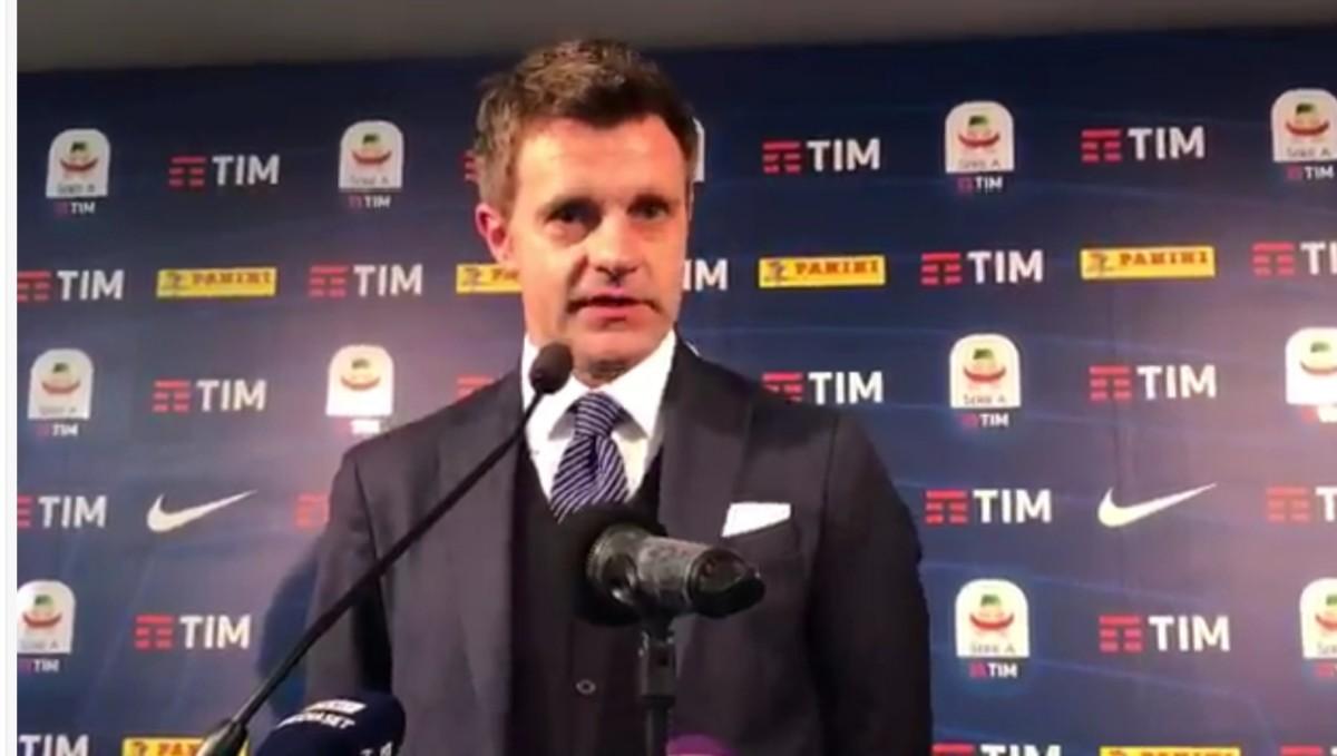 VIDEO – Clamorose dichiarazioni  di Rizzoli su Fabbri, Abisso e Mandzukic
