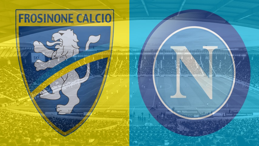 Frosinone Napoli, dove vedere il match in streaming e in tv