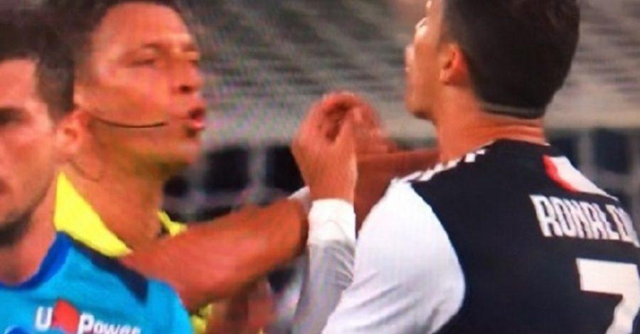 VIDEO  – Juventus Atalanta, Ronaldo furioso faccia a faccia