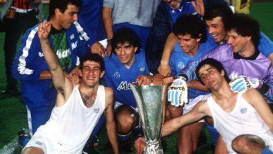 Coppa Uefa Napoli