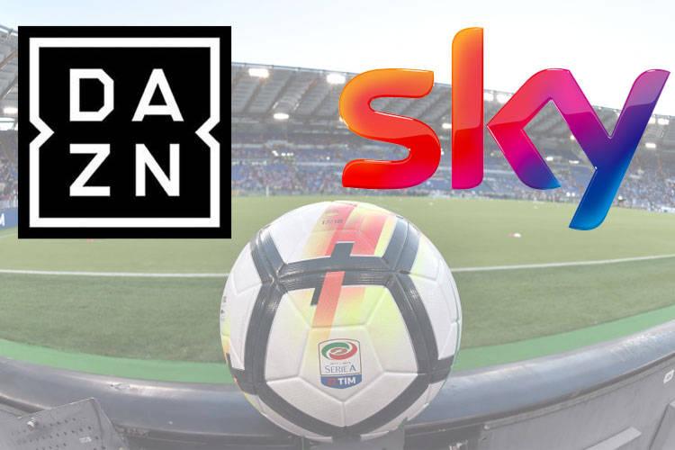 Caos diritti tv. SKY e DAZN chiedono lo sconto alla Lega