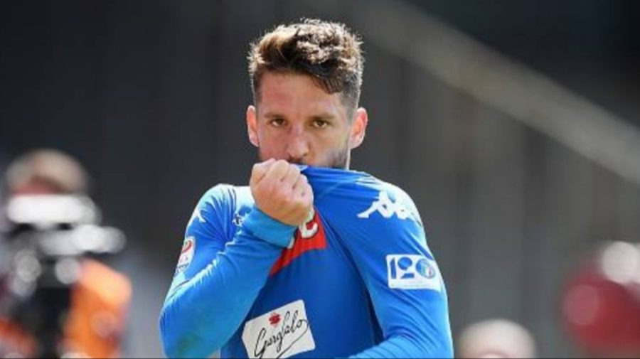 """Ultima gara al Napoli?"". La Risposta di Mertens in mixed zo"