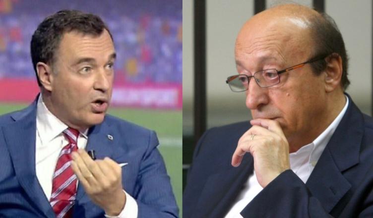 """VIDEO – Pistocchi attacca Moggi: """"Per capire tutto su calciopoli basta ascoltare questa intercettazione"""""""