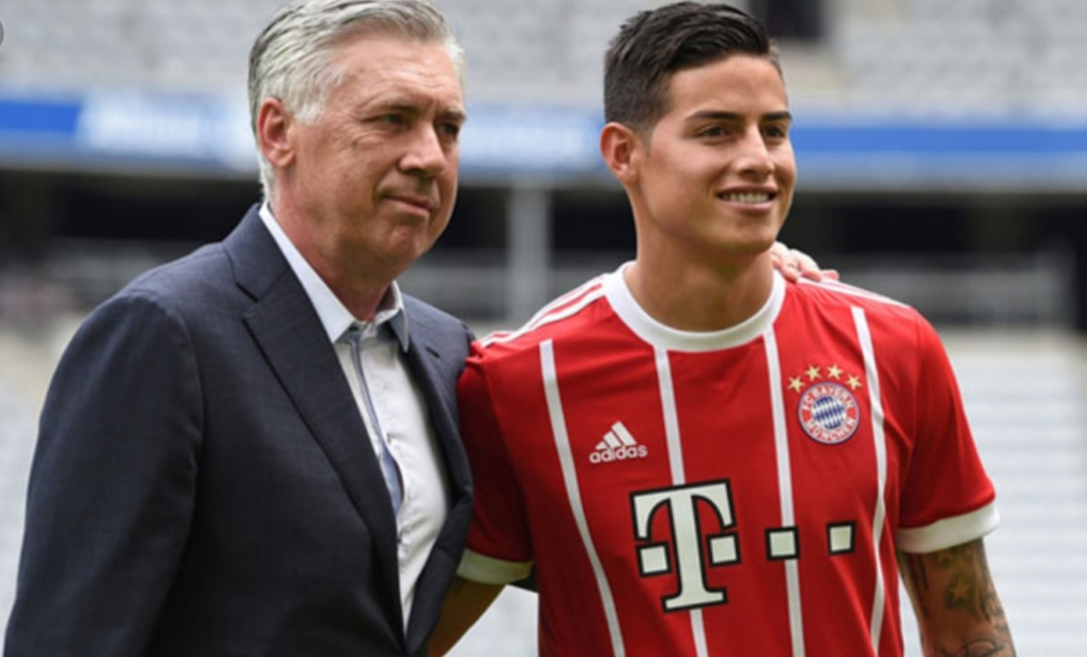 James Rodriguez-Ancelotti