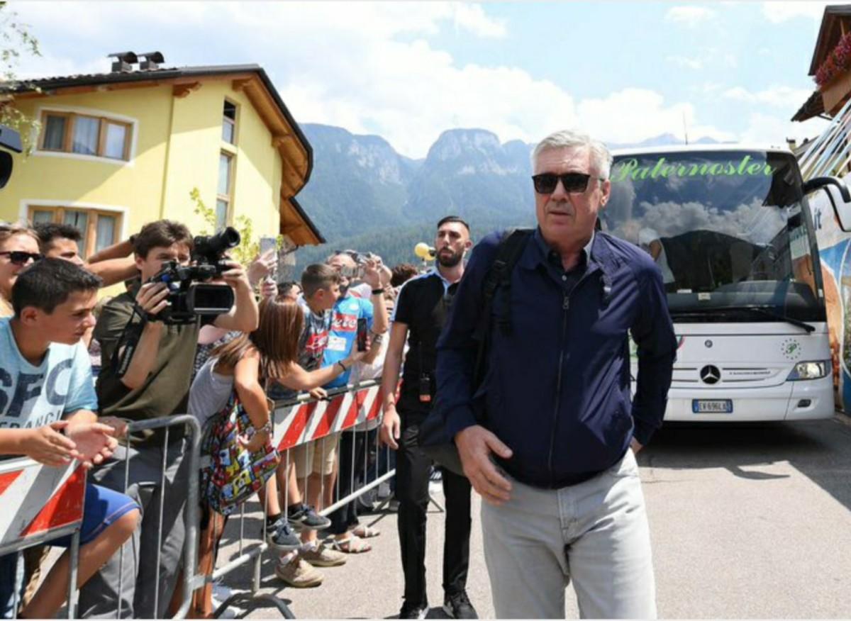 Ancelotti Dimaro 2019