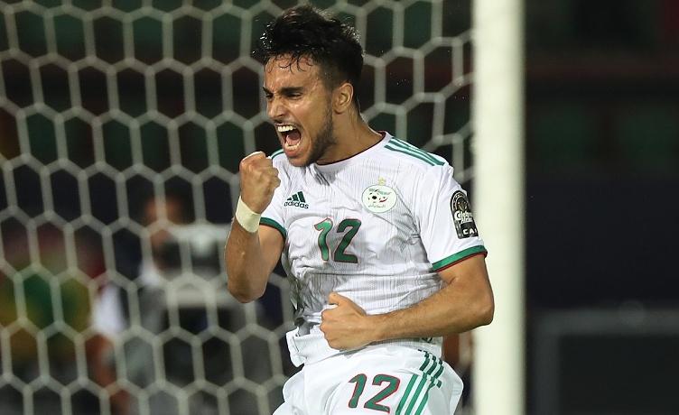 Ounas gol algeria coppa d'africa 2019