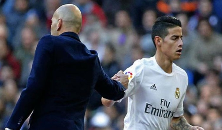 James Rodriguez di nuovo ai margini del Real Madrid