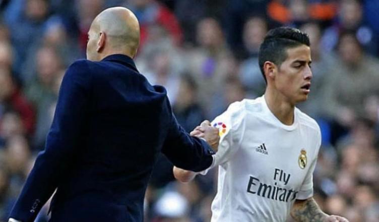 James Rodriguez di nuovo ai margini del Real Madrid