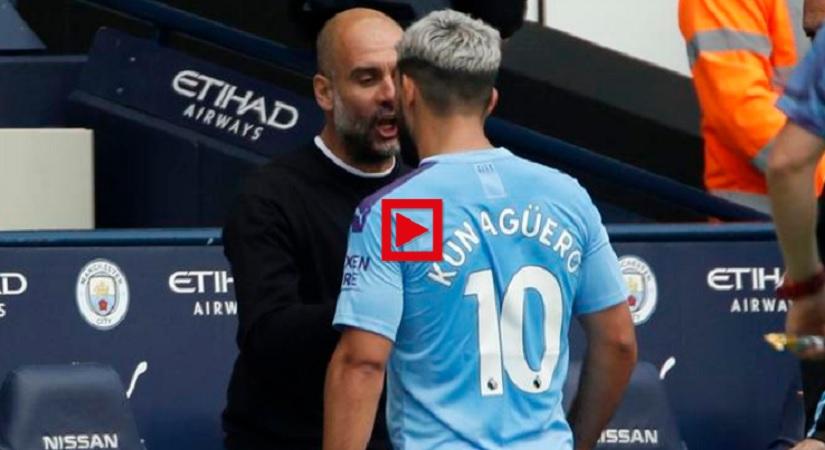 VIDEO – Scintille Guardiola-Aguero, la reazione del pubblico