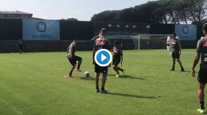 VIDEO – Torello del Napoli in allenamento