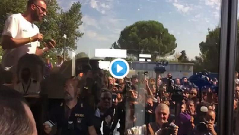 VIDEO – Accoglienza da stadio per Ribery a Firenze