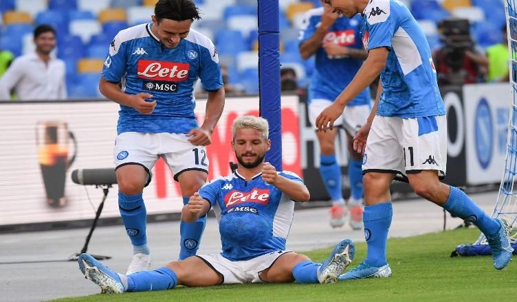 Napoli-Sampdoria 2-0, le pagelle: Mertens stratosferico, ma Elmas…