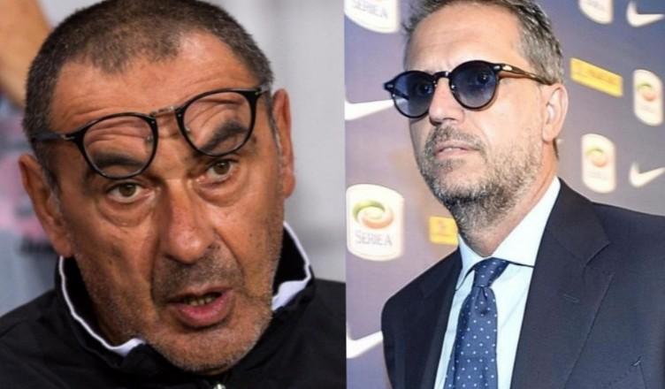 """CorSport – """"Tensioni in casa Juve: duro confronto Sarri-Paratici, il tecnico ha metabolizzato male un aspetto"""""""