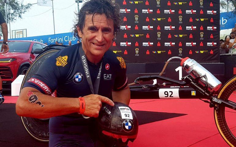 Alex Zanardi supera se stesso ed abbatte il record nell' Iro