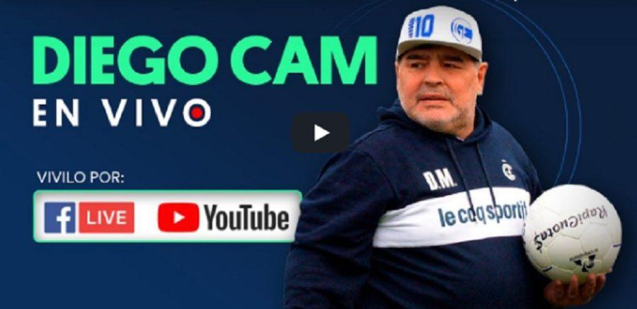 LIVE – Segui in diretta la Diego Cam, tutti gli occhi su Maradona