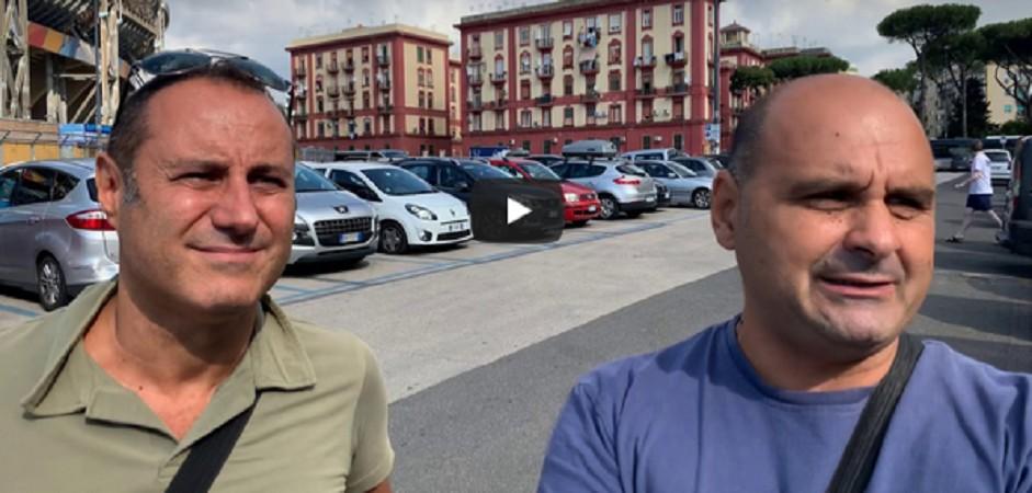 Tifosi Napoli – ForzAzzurri intervista supporters all'esterno del San Paolo