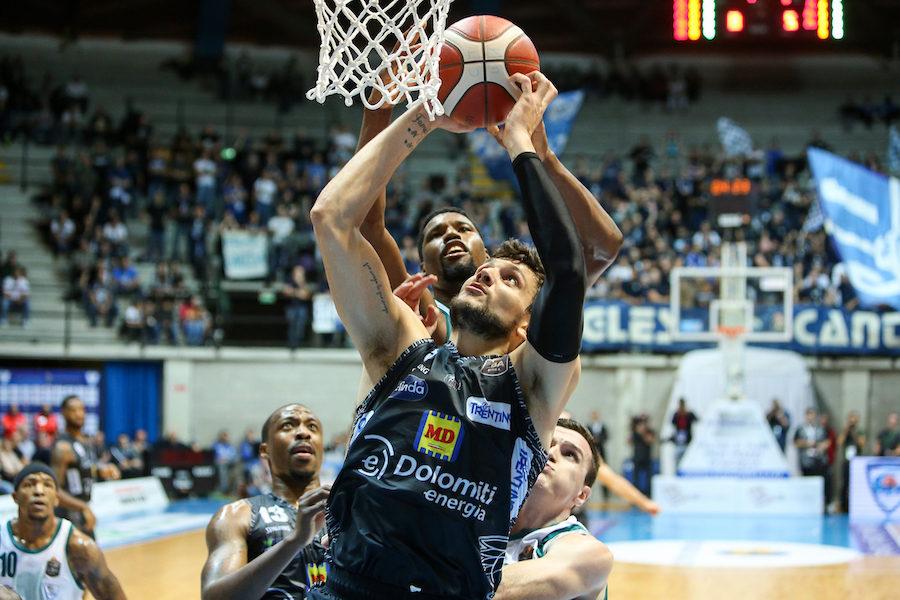 Basket, EuroCup 2019-2020: Trento sconfitta in casa dai polacchi del Gydnia