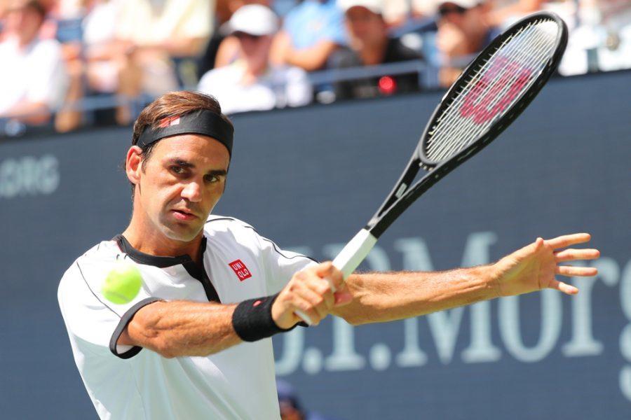 Tennis |  ATP Basilea 2019 |  con Federer |  che ha festeggiato i 1500 match nel circuito