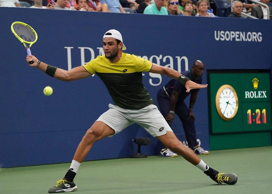 Tennis: Matteo Berrettini raggiunge 40 successi stagionali.