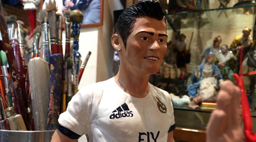 La statuetta di CR7 è la più venduta a San Gregorio Armeno
