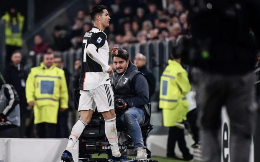 Spunta il labiale di Ronaldo mentre esce dal campo
