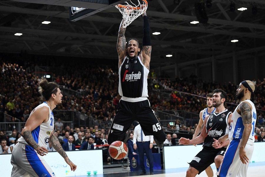 Basket |  8^ giornata Serie A 2019-2020 |  Virtus Bologna imbattuta |  Brindisi seconda