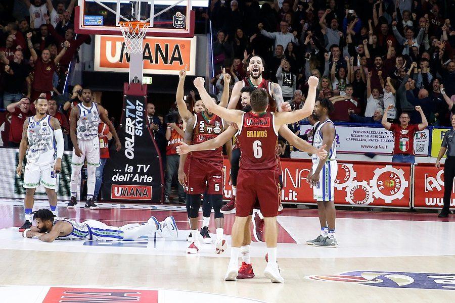 Basket |  8^ giornata Serie A 2019-2020 |  Watt fa impazzire Venezia  La Reyer batte Sassari