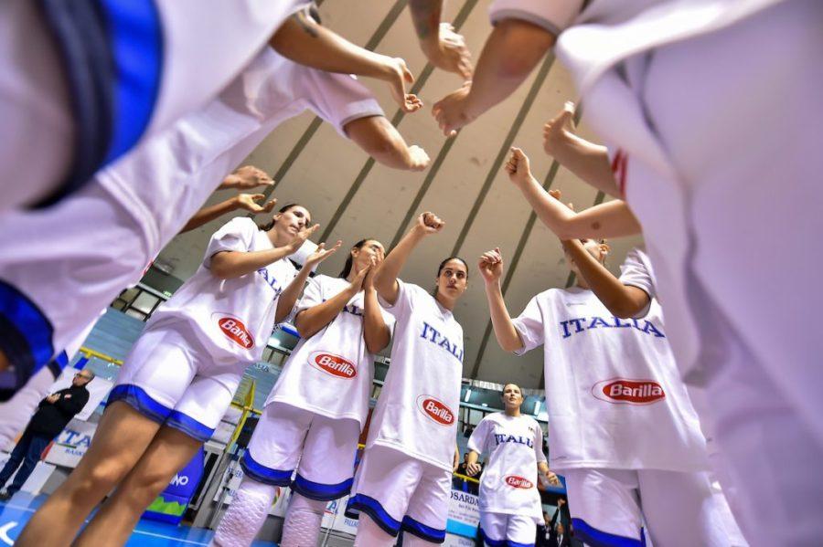 Basket femminile |  Qualificazioni Europei 2021 |  decise le 12 dell'Italia per la Danimarca