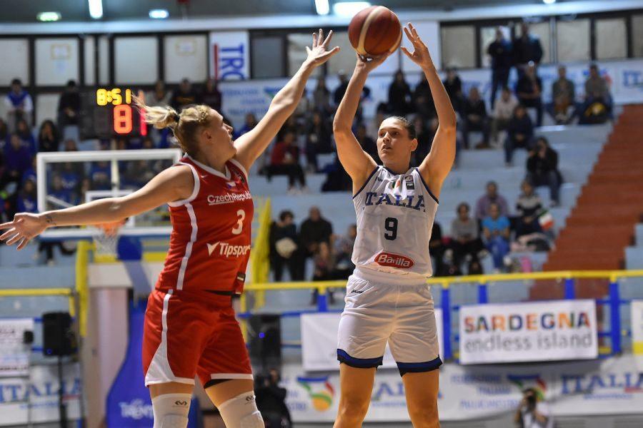 Basket femminile, Qualificazioni Europei 2021: sconfitta all