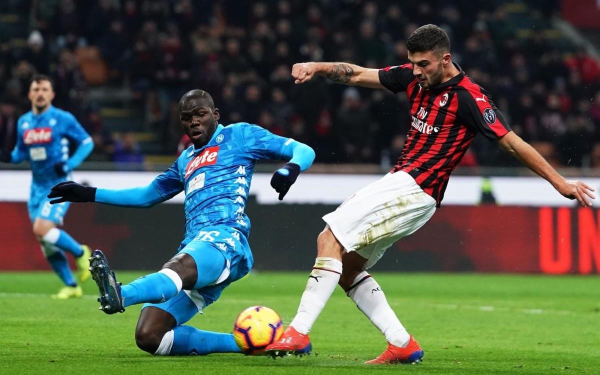 Milan Napoli, il match delle deluse