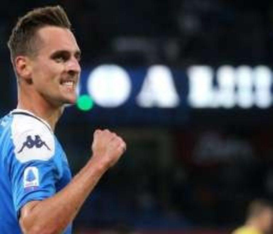 Champions League: Milik tra i 4 candidati alla palma di migliore della settimana