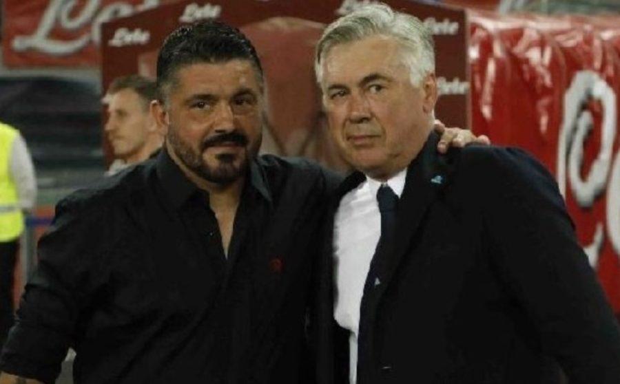 RAI – Esonero Ancelotti inevitabile in un caso. Gattuso a Na