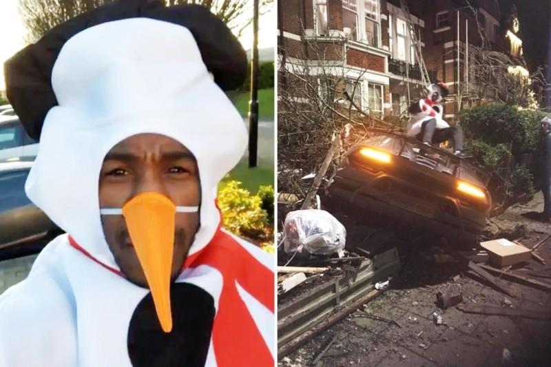 Michail Antonio, attaccante del West Ham, si è schiantato con la sua Lamborghini