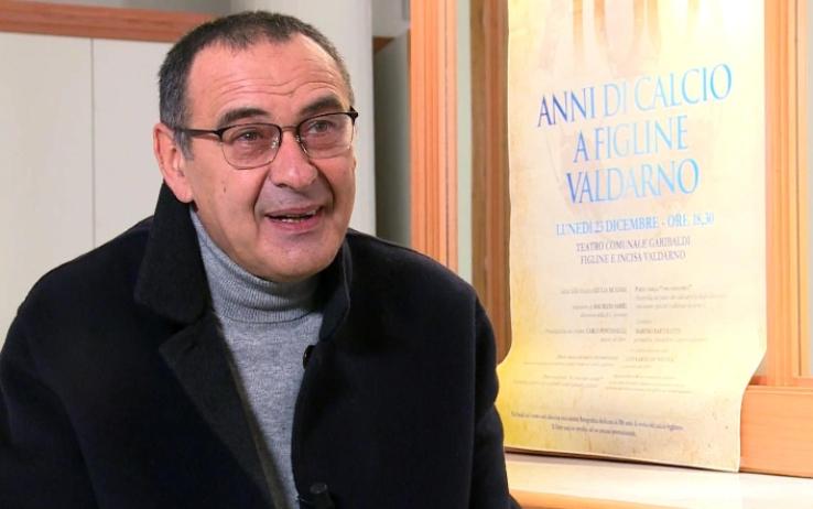 """Maurizio Sarri: """"Napoli rimasto mio ostaggio? Quel gruppo è stato eccezionale"""""""