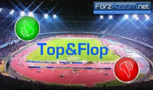 Top & Flop – Barcellona Napoli il migliore ed il peggiore azzurro in campo