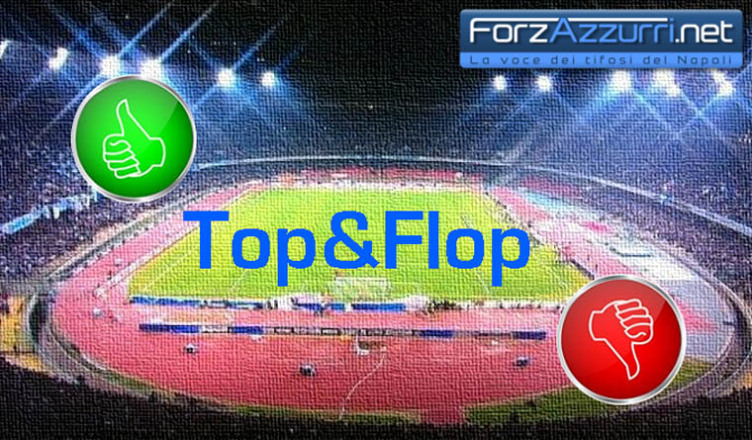 Top & Flop – Napoli-Lazio, il migliore ed il peggiore azzurro in campo