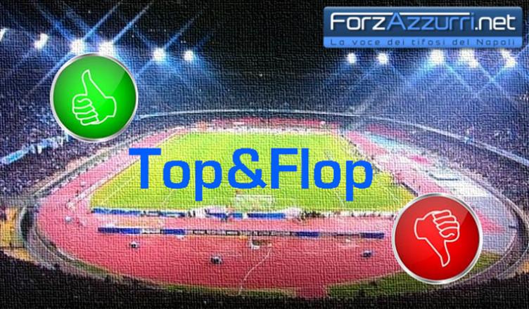 Top & Flop – Napoli-Lecce, il migliore ed il peggiore azzurro in campo