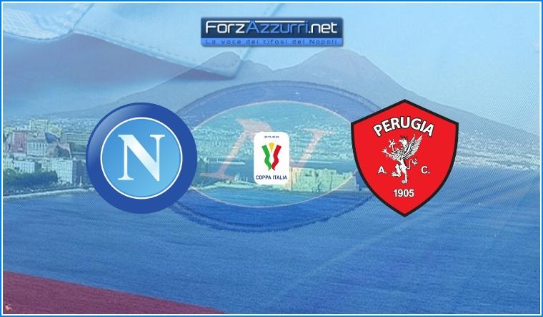 Napoli-Perugia Formazioni ufficiali