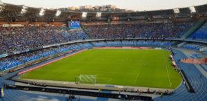 Napoli Fiorentina, il San Paolo era deserto: i dati sono all