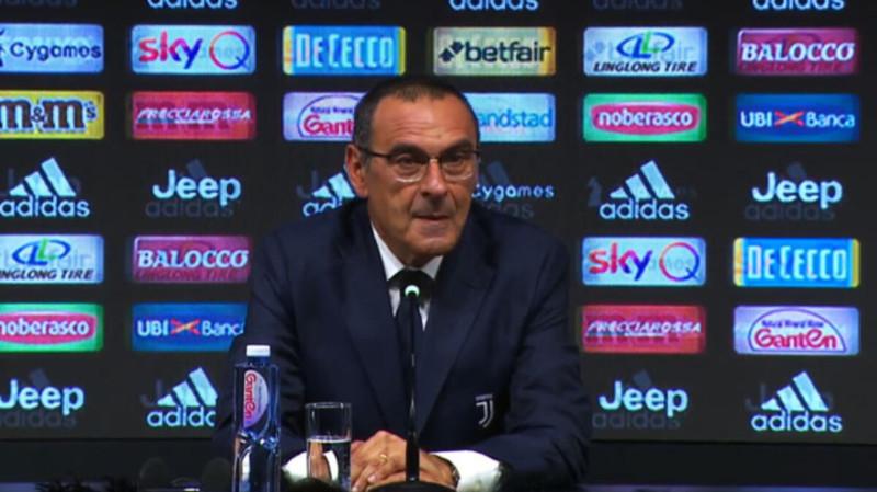 """Milan-Juventus, Sarri: """"Il rigore? Con le norme attuali è clamoroso"""""""