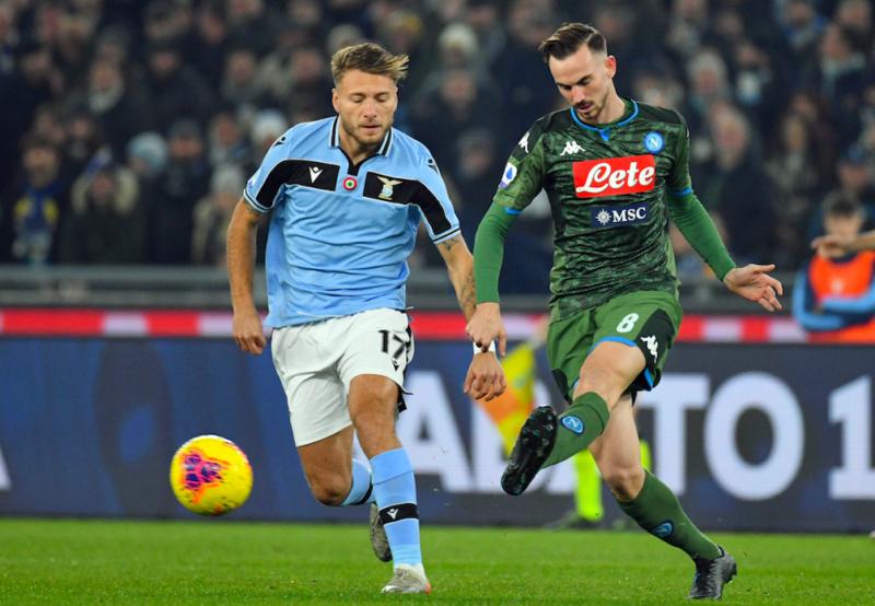 Lazio-Napoli, 1-0: Ospina inguaia gli azzurri