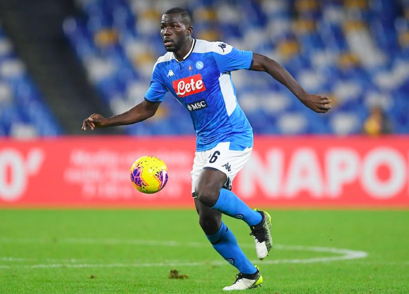 Koulibaly: De Laurentiis non cede all'offerta di 60 milioni del Liverpool