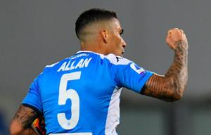Napoli, con il Brescia Allan può tornare titolare