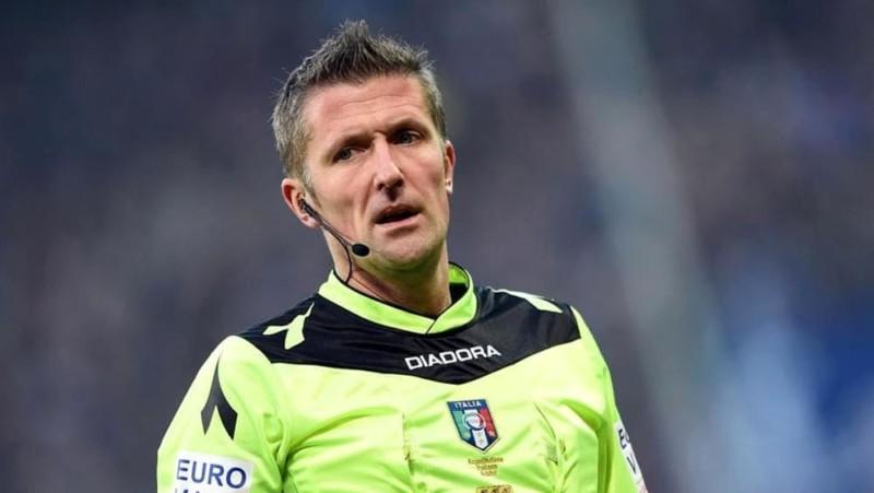 Ufficiale: Orsato di Schio arbitrerà l'incontro di sabato sera all'Olimpico tra Lazio e Napoli