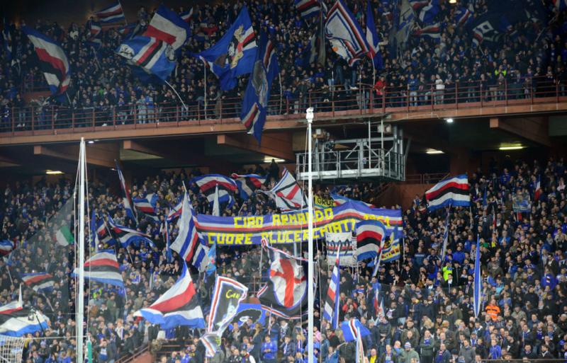 Sampdoria-Napoli, ancora cori razzisti: multa in arrivo per i blucerchiati