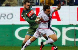 Cagliari Napoli, 0 1: Mertens decide il match con una perla