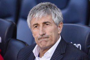 """Conferenza stampa Setien:""""Napoli grande partita. Risultato p"""
