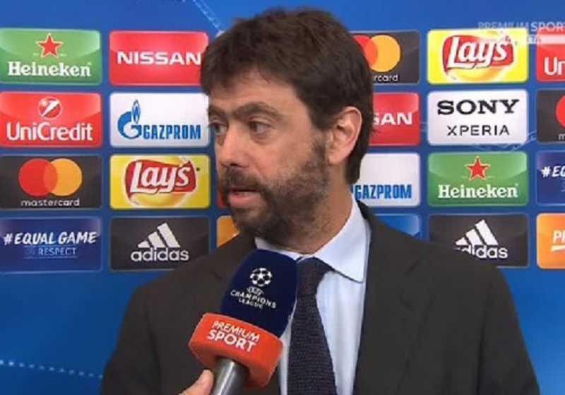 """Agnelli: """"L'Atalanta senza storia internazionale: è giusto che sia in Champions?"""""""