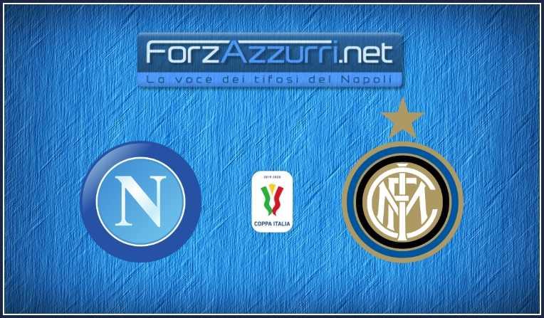 Coppa Italia, Napoli-Inter a rischio rinvio!