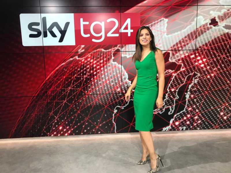 """VIDEO – Sky TG 24, la giornalista Pinna: """"Se da Roma in giù, purtroppo o per fortuna…"""""""